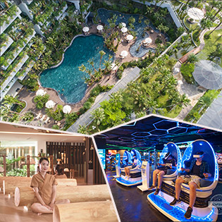 Flamingo Đại Lải Resort 5*- Lưu Trú Dayuse + 1 Bữa Ăn + Xông Hơi Hàn Quốc Jjim Jil Bang + VR Game