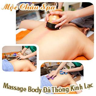 Massage Body Đả Thông Kinh Lạc Tại Mộc Châu Spa