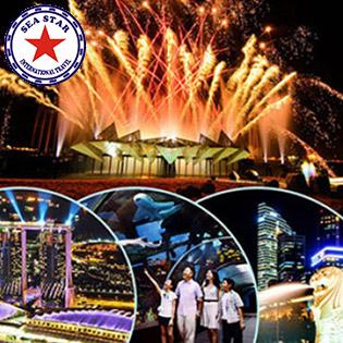 Tour Trọn Gói Singapore – Malaysia - Indonesia 6N5Đ Thủy Cung S.E.A  Aquarium + Bảo Tàng Hàng Hải + Một Bữa Ăn Hải Sản Phong Phú Tại Indonesia