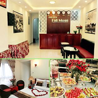 Khách Sạn Full Moon Đà Lạt – 3N2Đ – Gồm Ăn Sáng – Gần Chợ Đà Lạt