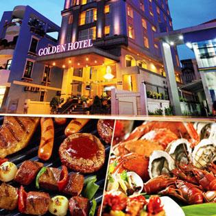 Buffet Đón Năm Mới - Xem Pháo Hoa Tại Tầng 17 Golden Central Hotel Saigon 4*