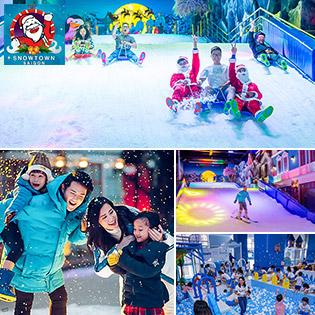 Áp Dụng Tết - Khu Tuyết Snow Town Sài Gòn – Vé Trọn Gói Vui Chơi Trượt Tuyết + Selfie Chất Nhất Sài Gòn