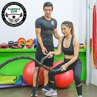 Trọn Gói 02 Tháng Tập Gym, Kick Boxing Không Giới Hạn Thời Gian - T-UPES Gym & Fitness