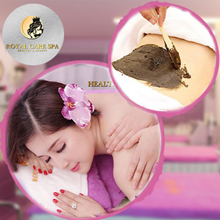 Lựa Chọn 1 Trong 2: Giảm Béo Bụng Kết Hợp Đắp Bùn Cứu Dưỡng Sinh Hoặc Massage Body Thư Giãn - Royal Care Spa