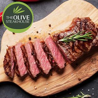 The Olive Steakhouse – Set Menu Món Âu Dành Cho 2 – 4 Người