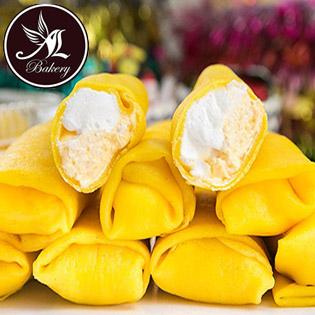 Combo 10 Bánh Sầu Riêng Kem Lạnh (6cm/ Bánh), Giao Hàng Tận Nơi - Thiên Thần Bakery