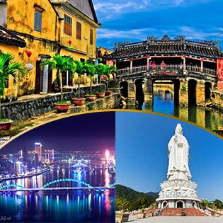 Tour Đà Nẵng 3N2Đ + Vé Máy Bay Khứ Hồi, Khám Phá Ngũ Hành Sơn - Hội An - Bà Nà (Tặng Vé Du Thuyền Sông Hàn)