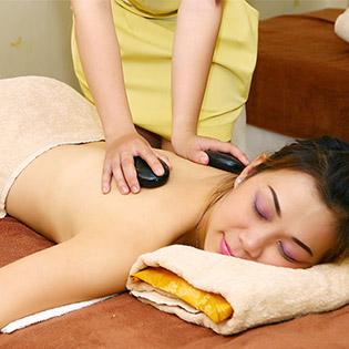 Miễn Tip - (110') Massage Body + Foot + Xông Hơi + Ngâm Chân + Chăm Sóc Da Mặt + Đắp Mặt Nạ + Nằm Gối Nóng Thảo Dược/ Quấn Nóng Tan Mỡ Bụng - Khánh Hương Spa