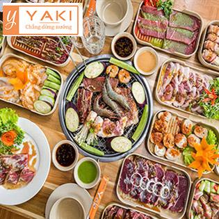 Buffet Tối/ Trưa BBQ Bò Mỹ, Hải Sản & Lẩu Gần 50 Món Tại Nhà Hàng Yaki 3