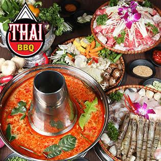 Buffet Nướng Lẩu Hương Vị Thái Lan - Nhà Hàng Thái BBQ Lê Văn Lương