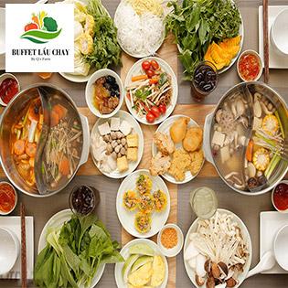 Buffet Lẩu Chay Hơn 10 Vị Lẩu Đặc Biệt Đầu Tiên Ở Sài Gòn – Miễn Phí Tráng Miệng + Thức Uống – NH Buffet Lẩu Chay