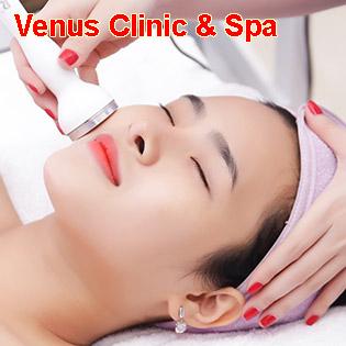 Chạy Vitamin C/ Điều Trị Mụn, Thâm/ Hút Chì/ Massage Body + Foot + Chăm Sóc Da Mặt + Đắp Mặt Nạ - Venus Clinic & Spa