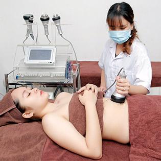 Combo 5 Lần Giảm Béo – Săn Chắc 5 Vùng Bụng/ 2 Đùi/ Bắp chân/ Bắp tay công nghệ máy Ultra Vlift Korea Độc Quyền Chỉ Có Tại Hùng Phương Skincare & Clinic