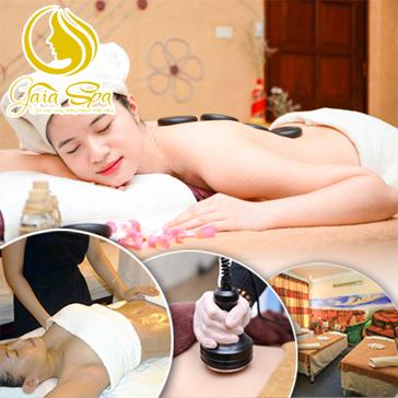 Lựa Chọn 1 Trong 2 Dịch Vụ (Giảm Béo/ Massage Body Đá nóng) Tại Gai A Spa Mộc Trà