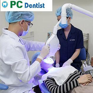 Tẩy Trắng Răng Dr.White Kết Hợp CN Plasma 2018 Tại PC Dentist
