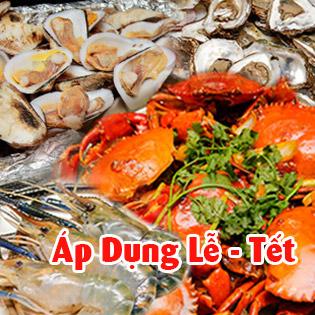 Áp Dụng Lễ, Tết - Buffet Trưa Gánh Palace 4* - Hải Sản 3 Miền Tại Phố Đi Bộ Nguyễn Huệ