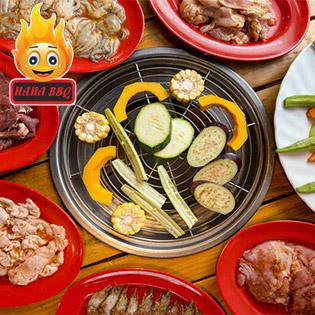 Buffet Nướng Ăn Thả Ga - Cười Haha - Tại HAHA BBQ