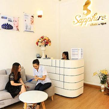 Da Mịn Màng, Trẻ Hóa Và Thon Gọn - Lazer Carbon/ Điện Di/ Năng Cơ RF Tại Sapphire Clinic & Spa