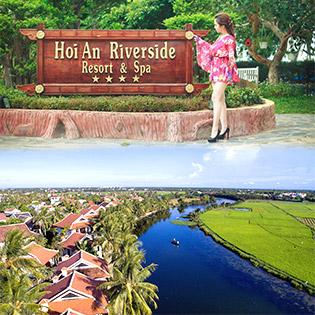 Hoi An Riverside Resort 4* - 3N2Đ Phòng Superior Garden Dành Cho 2 Khách – Không Phụ Thu Thứ 7, Lễ, Tết - Tặng Mâm Cơm 3 Miền