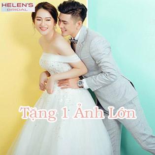 Siêu Hot Chụp Thử Ảnh Cưới Làm Cô Dâu Chú Rể/ Ảnh Nghệ Thuật Hàn Quốc – Tặng 1 Ảnh Lớn (20 X 30) Tại Helen's Bridal