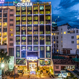 Cicilia Nha Trang Hotel 4* 2N1Đ Phòng Deluxe Dành Cho 02 Khách Và 01 Trẻ Dưới 06 Tuổi