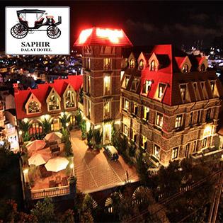 Saphir Hotel 4* Đà Lạt 2N1Đ – Ăn Sáng - Gần Chợ Đà Lạt - Áp Dụng Các Ngày Lễ