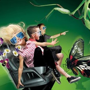 Combo 4 Vé Xem Phim 4D Tại Hệ Thống World Rider
