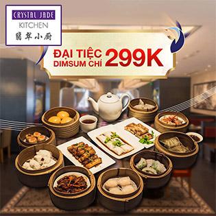 Hệ Thống 05 CN Crystal Jade Kitchen - Chuỗi Nhà Hàng Quảng Đông Trên 100 Món Ăn Trứ Danh Châu Á