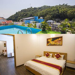 Blue Sea Hotel & Apartment 02 Phòng Ngủ Dành Cho 4 Người 2N1Đ Có Hồ Bơi – Gần Biển – Không Áp Dụng T6, T7 & Ngày Lễ