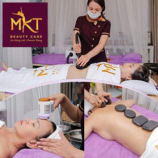 Buffet Spa – 6 Combo Massage Body, Chăm Sóc Da Mặt, Toàn Thân Tại MKT Beauty Care