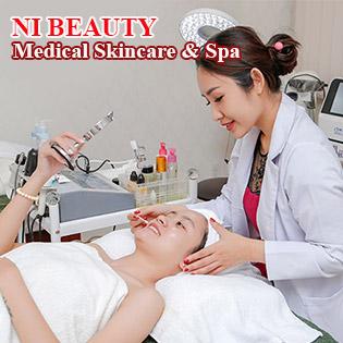 Miễn Tip - Sạch Mụn + Bay Thâm + Se Khít Chân Lông Chuẩn Y Khoa - Cam Kết Hiệu Quả 100% - NI BEAUTY Medical Skincare & Spa