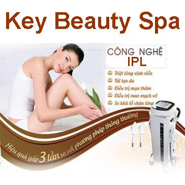 Trọn Gói 10 Lần Triệt Lông Siêu Nhanh IPL/ Bắn Laser Carbon Trẻ Hóa Da - Key Beauty Spa