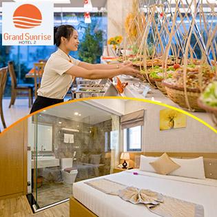 Grand Sunrise 2 Hotel 3* Đà Nẵng-  2N1Đ Phòng Superior - Bao Gồm Ăn Sáng Buffet Hoặc Semi Buffet – Miễn Phí Sử Dụng Hồ Bơi. Không Phụ Thu Cuối Tuần