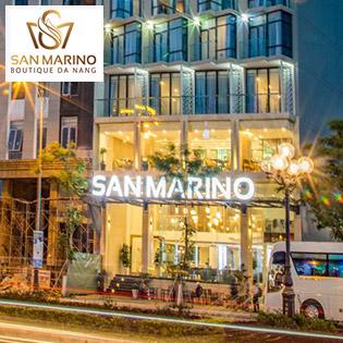 San Marino Boutique Hotel 4* Đà Nẵng Giá Tốt – Phòng Superior – Gần Biển – Không Phụ Thu Cuối Tuần – Miễn Phí Hồ Bơi Và Gym