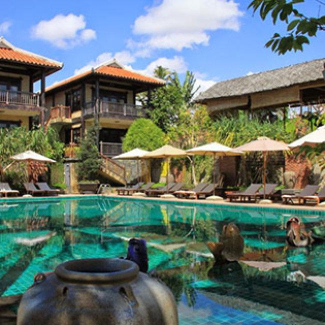 Lotus Village Resort 4* 2N1Đ – Phòng Standard Garden View-Hillside – Buffet Sáng + 1 Suất Ăn Trưa Hoặc Tối + 1 Suất Massage – Áp Dụng Lễ Dành Cho 02 Người