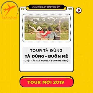 """Tour Khám Phá Tây Nguyên 3N3Đ Siêu Hot- KS 5 Sao - Tham Quan Tà Đùng - Buôn Mê Thuột - Lội Hồ Cưỡi Voi - Ngắm """"Vịnh Hạ Long"""" Của Tây Nguyên"""