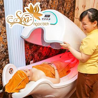 Lựa Chọn 1 Trong 5 Dịch Vụ (Điều Trị Mụn Chuyên Sâu/ Tắm Trắng Phi Thuyền/ Massage Body/ Triệt Lông/ Làm Nail) Tại Spa Ngọc Bích