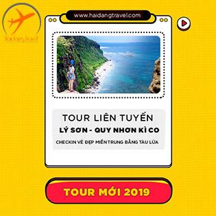 Tour Vip Biển Đảo Lý Sơn 3N4Đ – Khám Phá Tiên Cảnh Eo Gió – Đảo Kỳ Co – Thưởng Thức Đặc Sản Nhơn Lý – Đi/ Về Bằng Tàu Hỏa 5 Sao