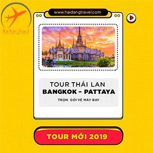 Tour Thái Lan 5N4Đ HOT 2019– Trọn Gói Khám Phá Xứ Sở Những Nụ Cười– Chợ Nổi Bốn Miền - Đảo Kohlan - Alcaza Show - Buffet Baiyoke – Dạo Thuyền Sông Phraya