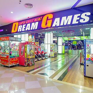 Vé Vào Cửa Vui Chơi Thỏa Thích Tại Tổ Hợp Dream Games Việt Nam