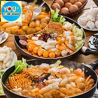 Buffet Ăn Vặt Tokbokki Cho Tín Đồ Mê Món Ăn Hàn Quốc Duy Nhất Chỉ Có Tại You+