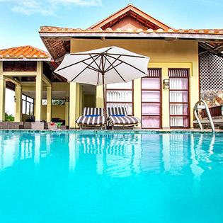 Romana Resort 4* Phan Thiết 2N1Đ – Phòng Family Three Bedroom Villa - Buffet Sáng + Lẩu Thả/Set Menu Trưa Hoặc Tối - Dành Cho 06 Người Lớn & 02 Em Bé Dưới 5 Tuổi