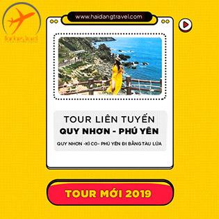 Tour Tàu Lửa 3N4Đ – Một Chuyến Đi 2 Điểm Đến Quy Nhơn – Phú Yên – Khám Phá Eo Gió - Đảo Kỳ Co - Gành Đá Dĩa – Thưởng Thức Đặc Sản Nhơn Yên