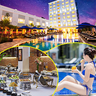 Phú Quốc Ocean Pearl Hotel 4*2N1Đ – Miễn Phí Buffet Sáng - Tặng Set Ăn Trưa Hoặc Ăn Tối Theo Menu