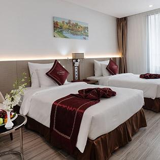 Le More Nha Trang Hotel 4* Gần Biển - 2N1Đ Phòng Deluxe Dành Cho 02 Khách Và 01 Trẻ Dưới 06 Tuổi