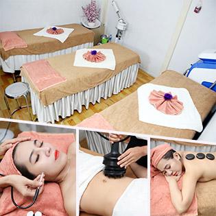 Miễn Tip (100') Massage Body/ Điều Trị Mụn/ Tan Mỡ Giảm Béo - Mộc Lan Spa