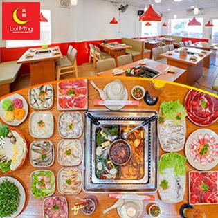 Combo Lẩu Hải Sản, Bò Mỹ Cao Cấp Từ 11-16 Món Dành 02-05 Người + Tặng Kèm Món Khai Vị Tại Lai Ming Hotpot The World