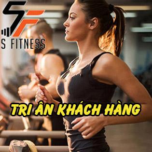 Hệ Thống S Fitness – 4 Tuần Tập Gym, Yoga Không Giới Hạn Trong Không Gian Sang Trọng Và Máy Móc Hiện Đại