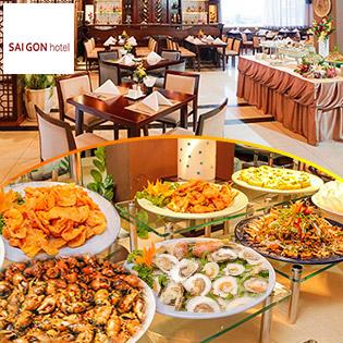 Buffet Ốc Tối T6, 7 & CN Sang Trọng Hơn 50 Món – Miễn Phí Buffet Bia, Nước Ngọt Tại Khách Sạn Sài Gòn 3*