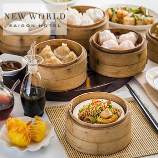 Áp Dụng Lễ - Không Phụ Thu - Buffet Dimsum Tại Nhà Hàng Dynasty - Khách Sạn 5 Sao New World Saigon Hotel